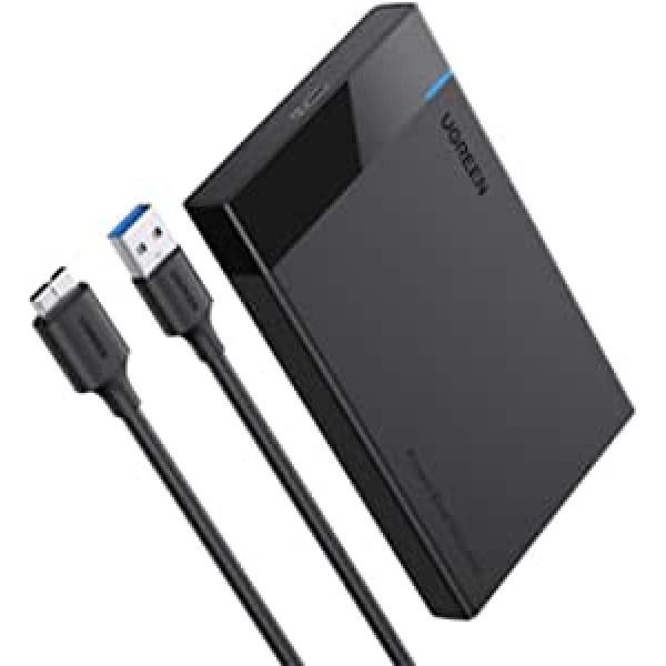 მყარი დისკის ქეისი  CM237 Ugreen60353 HDD Enclosure 2.5 SATA to USB 3.0 Hard Drive Adapter Enclosure for SSD Drive HDD