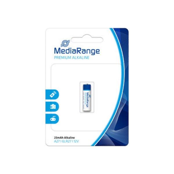 ელემენტი Premium Alkaline Battery A27/6LR27 12V MRBAT115 MediaRange 4260283116256