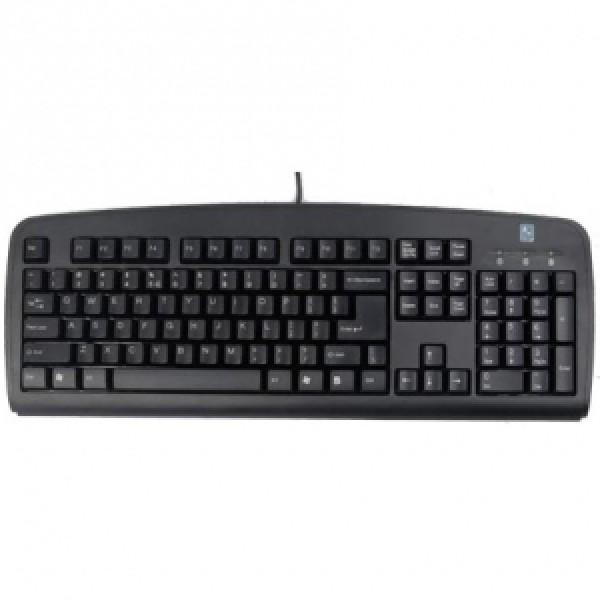 (გაყიდვაში არ არის)A4Tech keyboard KB-720, USB (Black) (US RU)