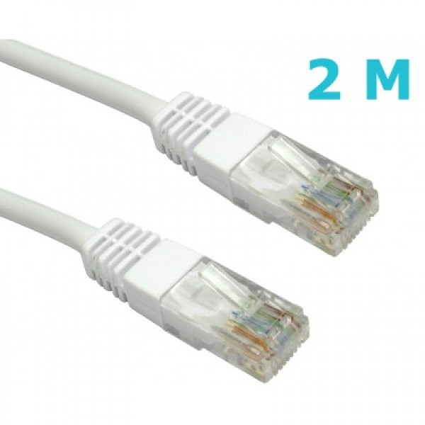 06112420-2, ITD, CAT6 FTP PATCH CABLE, 2m