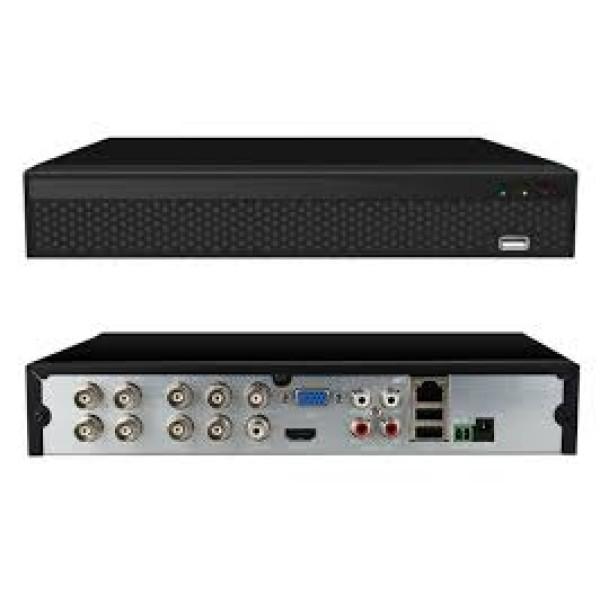 ჩამწერი XVRDA2008D PAL 8CH XVR EU black 5-IN-1 P2PHi3520DV400Nextchip 6134C