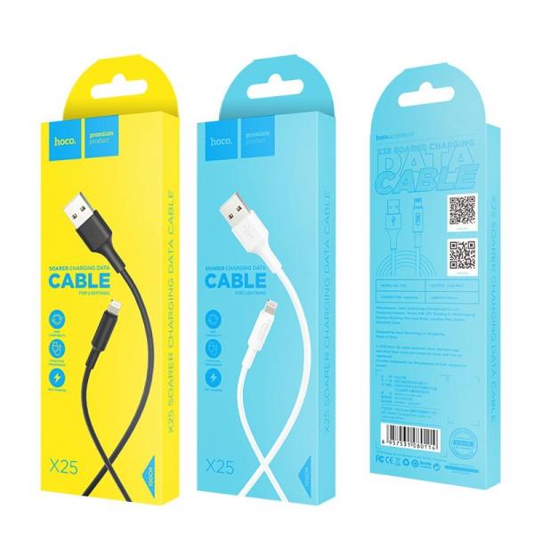 უსბ კაბელი  X25 HOCO Iphone cable