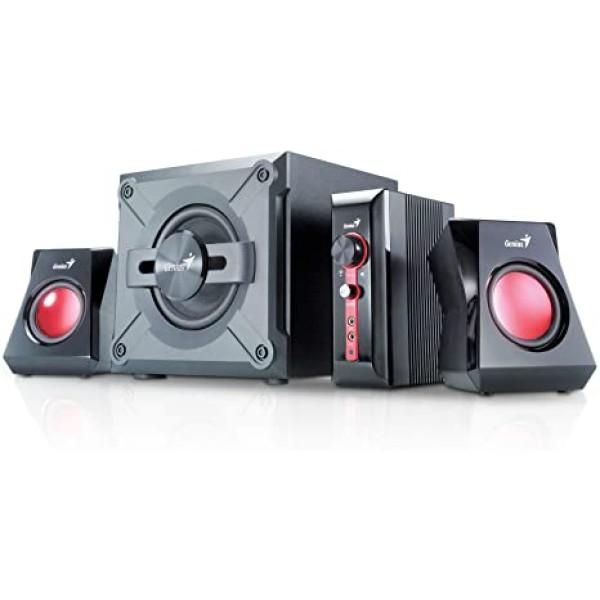 ხმამაღლამოლაპარაკე SW-G2.1 1250 Black, Genius, 4-piece Gaming Speaker System, 38w