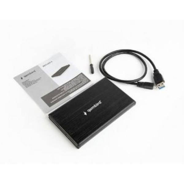 მყარი დისკის ყუთი 102537 EE2-U3S-3 USB 3.0 2.5'' enclosure, black Gembird 8716309102537