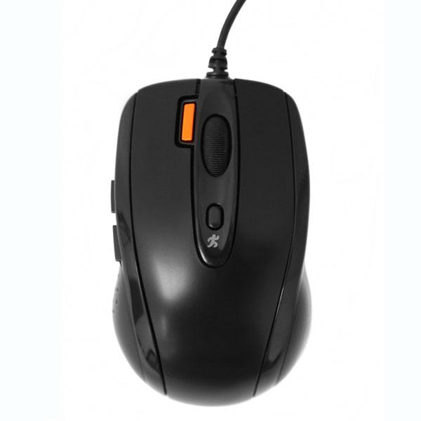 A4Tech mouse N-708X V-Track Padless Mouse USB (Black)