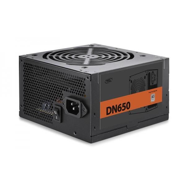 კვების ბლოკი DN650, Deepcool, 650W rated power with 120mm  fan to power your system