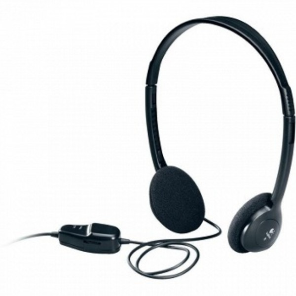 Headphone/ Logitech/ Dialog-220 Stereo Headset P/N 980177-000