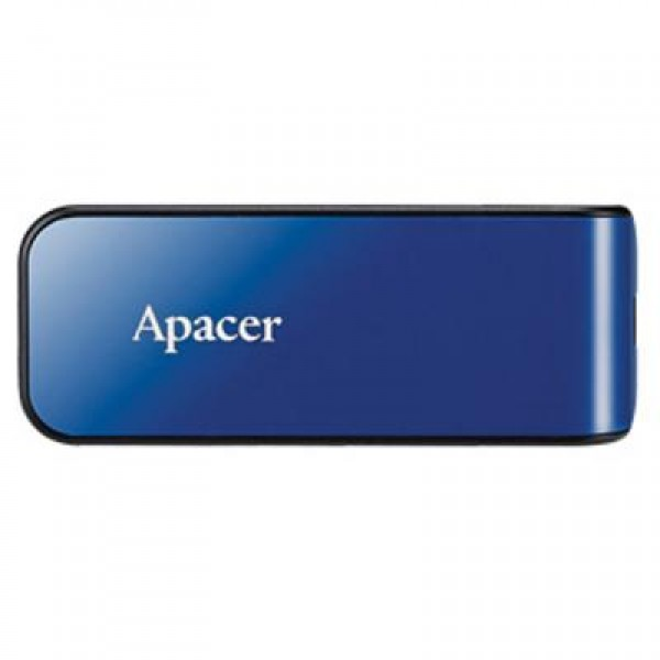 AP32GAH334U-1,Apacer  USB2.0 Flash Drive AH334 32GB Blue RP