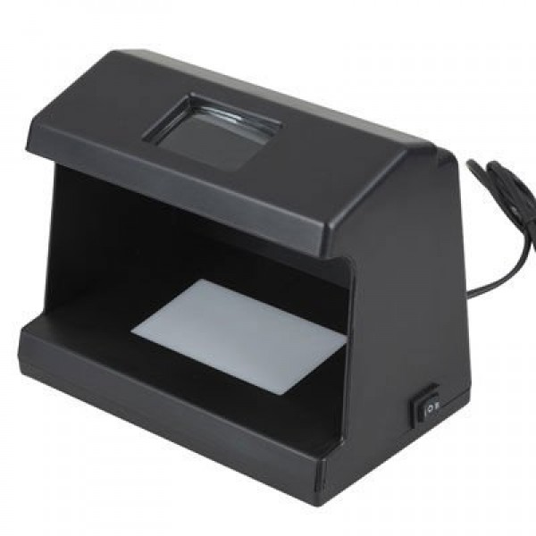ბარკოდის წამკითხველი/კუპიურის ამომცნობი/Mini UV light Bill Detector (WFT-D80)