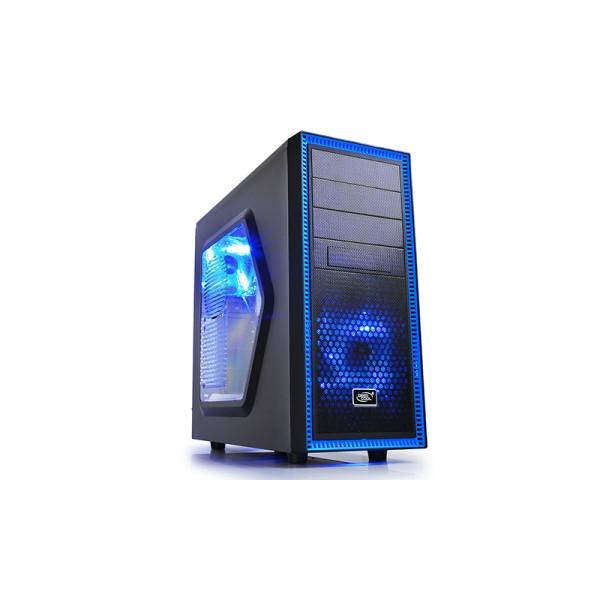 TESSERACT BF, Deepcool, Mid Tower Case 1xUSB3.0, 1xUSB2.0, Black