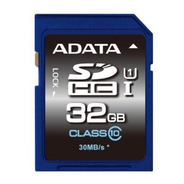ASDH32GUICL10-R,A-DATA 32GB Premier SDHC...