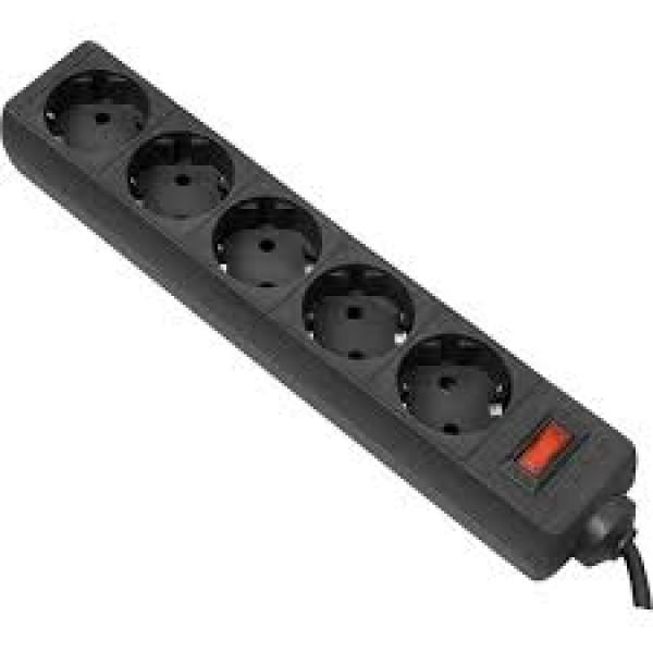 დენის ფილტრი 994855, DEFENDER ES 3.0m 5 Sockets Surge Protector, 10A