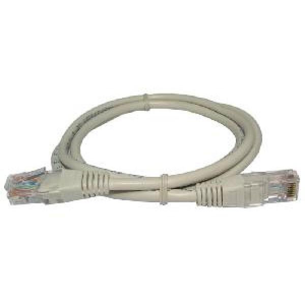კაბელი 68342, ACC Patch cable UTP CAT 5e, RJ45, RJ45, 1 m, Grey, CP0003