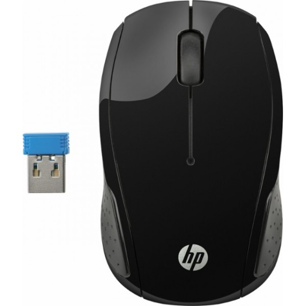 X6W31AA, HP 200 Black Wireless Mouse
