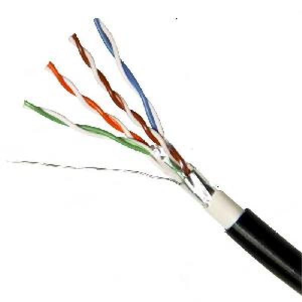 ქსელის კაბელი  05212400,  ITD, CAT5E FTP, 24AWG,0.50MM, CU(100%), 4PAIRS, Outdoor 305m/box
