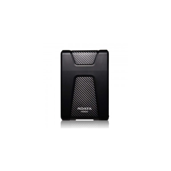 ADATA 1TB Portable Hard Drive HD650 DashDrive Choice (Black) USB 3.0, Color Box