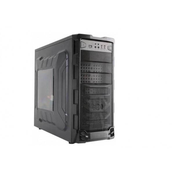 PC Components/ Case/ Miditower/Cooto  TB-385B3F   with PSU 600W