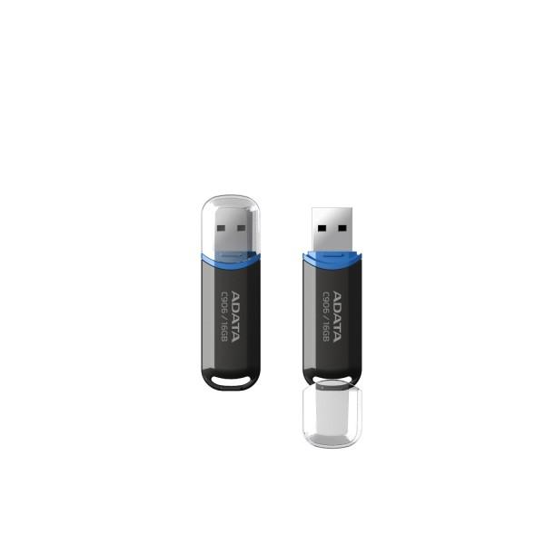 USB მეხსიერება AC906-16G-RBK, A-DATA Classic C906 16GB Black USB Flash Drive usb 2.0