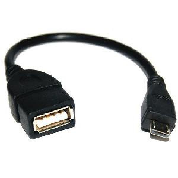 KDUSB2002-1M, KINGDA,  USB 2.0 A female to micro 5Pin male cable,CU ,1M