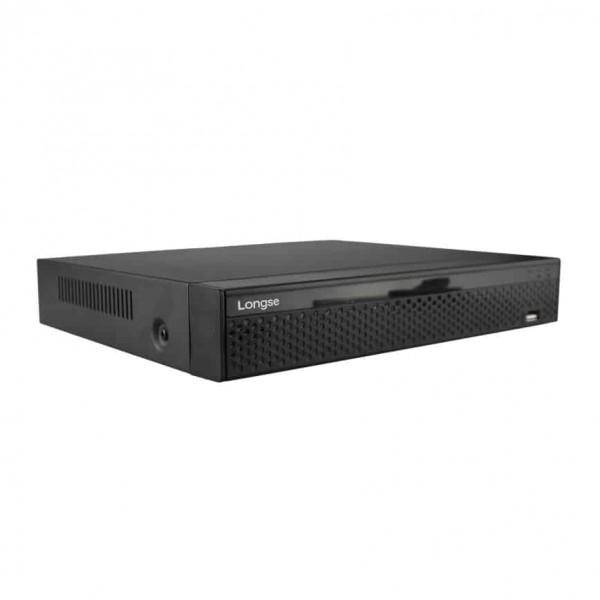 ჩამწერი NVR3608DBP MAX 16CH, 8CH POE, 2X Sata Interface, 4K/5M/4M/3M/1080P/960P/720p,  Playback Resolution: 1CH@4K/4CH@1080P