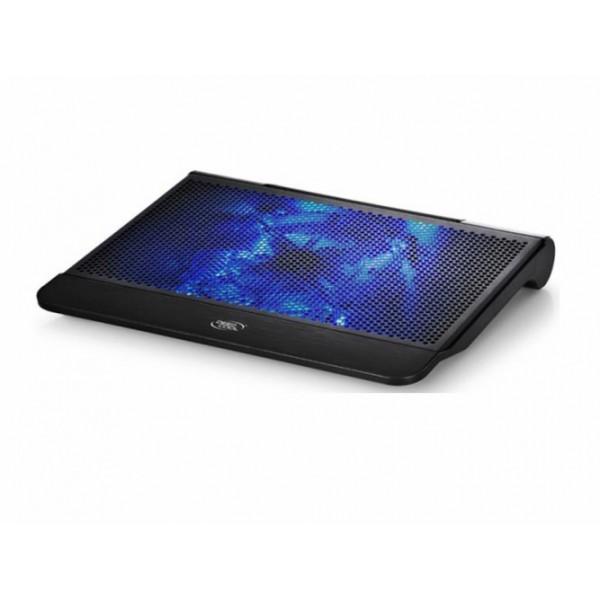 ნოუთბუქის სადგამი N1, Deepcool, notebook cooler Green up to 15.6 nb, 1x180mm fan