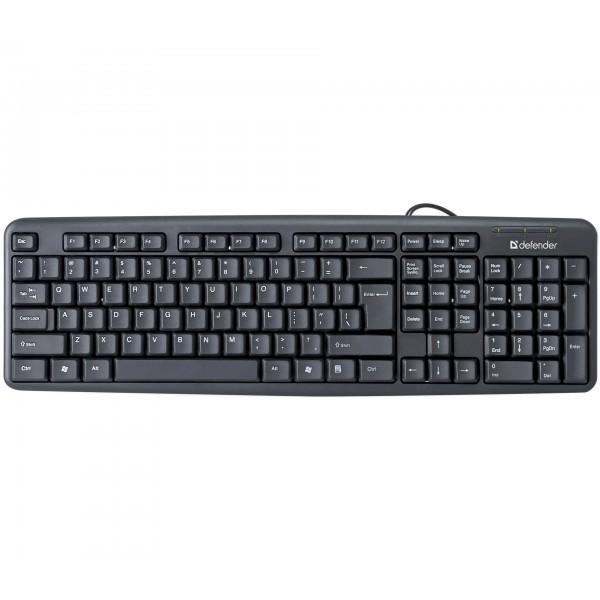 HB-520 BK  Element DEFENDER keybord, USB