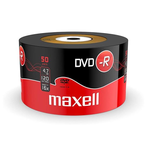 შეკვრა დისკების 50-ცალიანი DVD -R47 16X 50SCHRINK Maxell 4902580504892