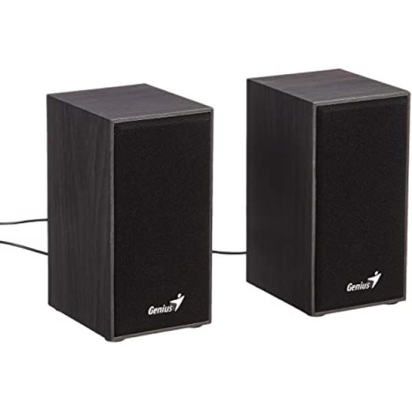 ხმამაღლამოლაპარაკე SP-HF180, Genius Stereo USB Powered Speakers Black