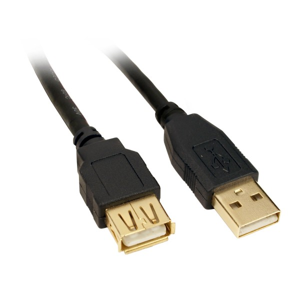 KDUSB2004-0.5M, Kingda, USB 2.0 EXT Cable  A Male to A Female,0.5M