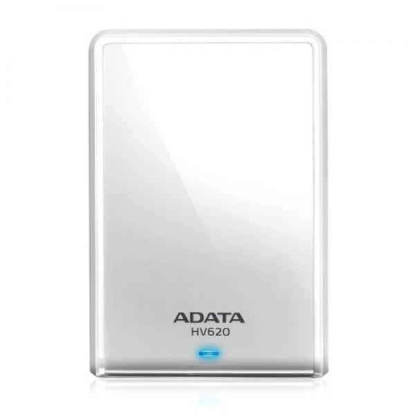 ADATA 1TB USB3.0 Portable Hard Drive HV620 (2.5), white