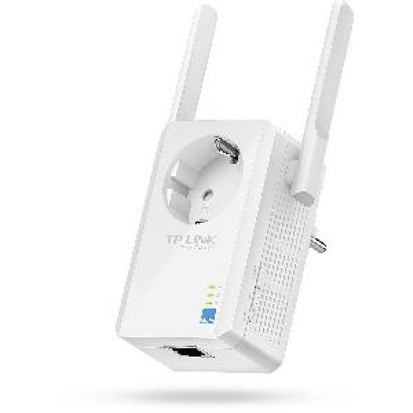 რადიო ქსელი TL-WA860RE, TP-Link, 300Mbps Wireless N Wall Plugged Range Extender with AC Passthrough, QCA(Atheros