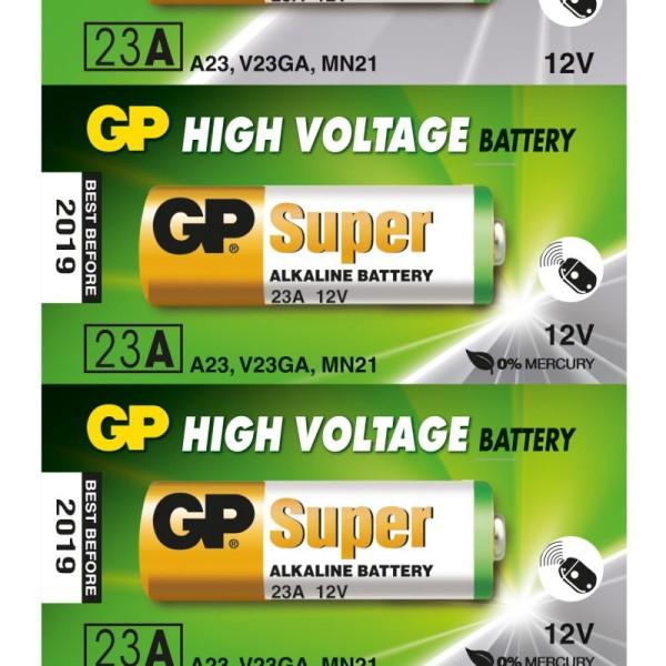 შეკვრა ელემენტების 5-ცალიანი GPPBA23AF002 23AF-U5 Alkaline for Remote control 12.0V GP 4891199042140