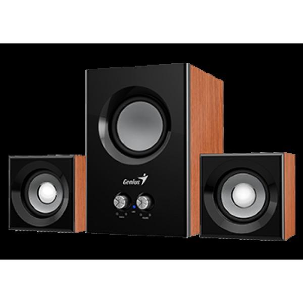 ხმამაღლამოლაპარაკე SW-2.1 385 Wood, Genius, speaker with subwoofer 15W