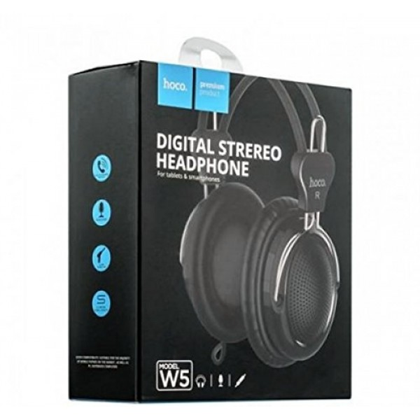Hoco W5 Manno headphone black