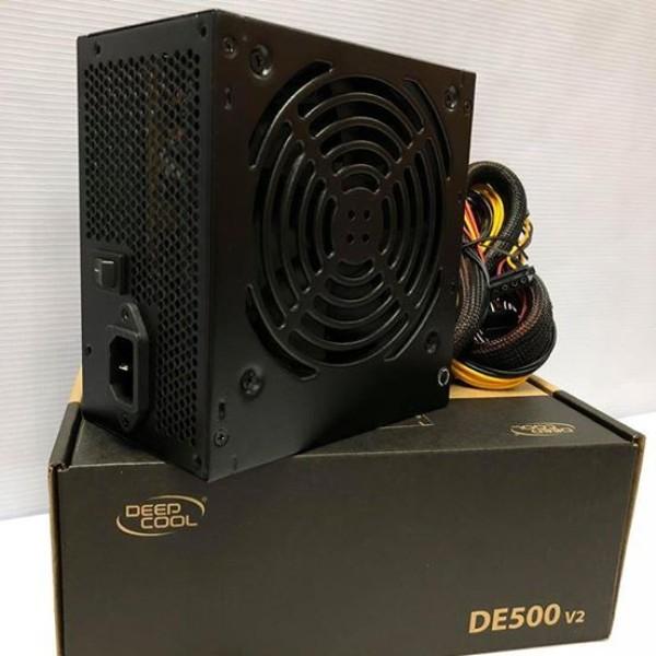 კვების ბლოკი DE500 V2, Deepcool, ATX 12V V2.31, 350W rated power with 120mm silent fan