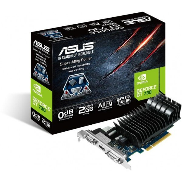 ვიდეო ბარათი (ვიდეო კარტა)Asus GeForce GT730, 2GD3/DVI,HDMI,2G,DDR3/