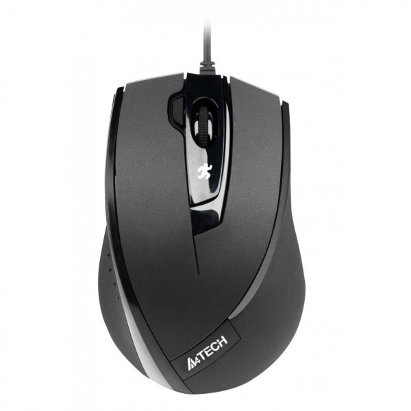 A4Tech mouse N-600X V-Track padless mouse, black