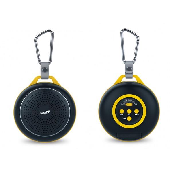 (გაყიდვაში არ არის)ხმამაღლამოლაპარაკე SP-906BT, Genius,Outdoor Portable Bluetooth Speaker (Black)