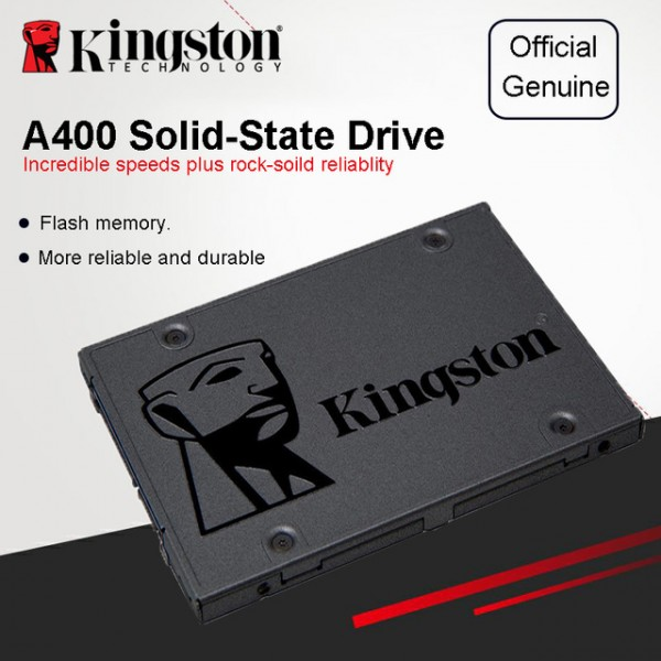 PC Components/ HDD/ SSD/ Kingston  A400 SATA 3 2.5 Solid State Drive SA400S37/240GB