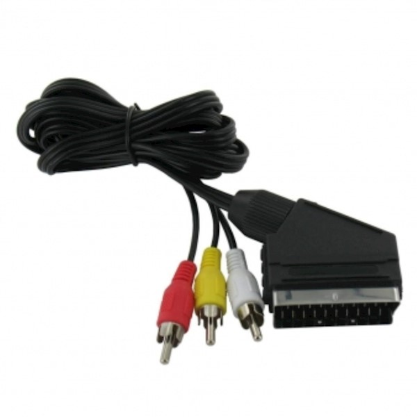 KDAVC9007-1.5M, KINGDA, Scart cable to 3RCA,1.5m