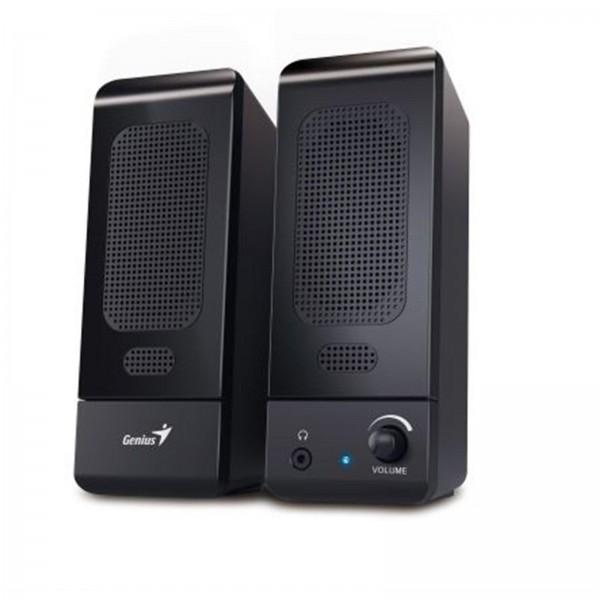 ხმამაღლამოლაპარაკე  SP-U120 Black, Genius, Multimedia Stereo Speakers,  USB, Power 3W