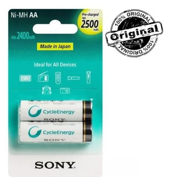 Sony შეკვრა ელ.2-ცალიანი NHAAb2KN NIMH 2xAA 008562010109