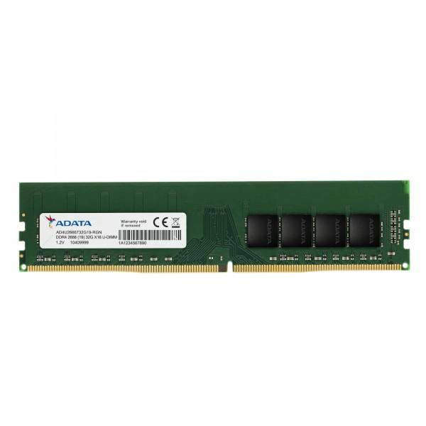 AD4U2666716G19-B,ADATA DDR4U-DIMM26662048X8 16GB19-BULKNON HEAT SINKSTANDARD