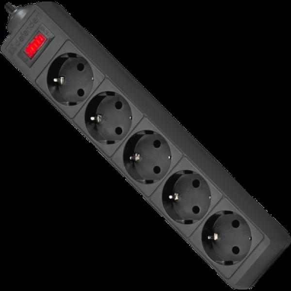 დენის ფილტრი 994862, DEFENDER ES 5.0m 5 Sockets Surge Protector, 10A