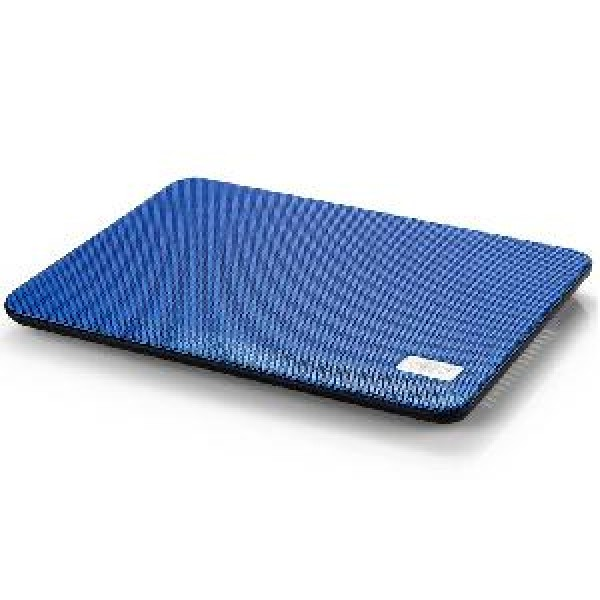 ნოუთბუქის სადგამი N17, Deepcool Notebook Cooler ,Super Slim,Very Portable,1 USB, For 14-15.6 inch,Blue
