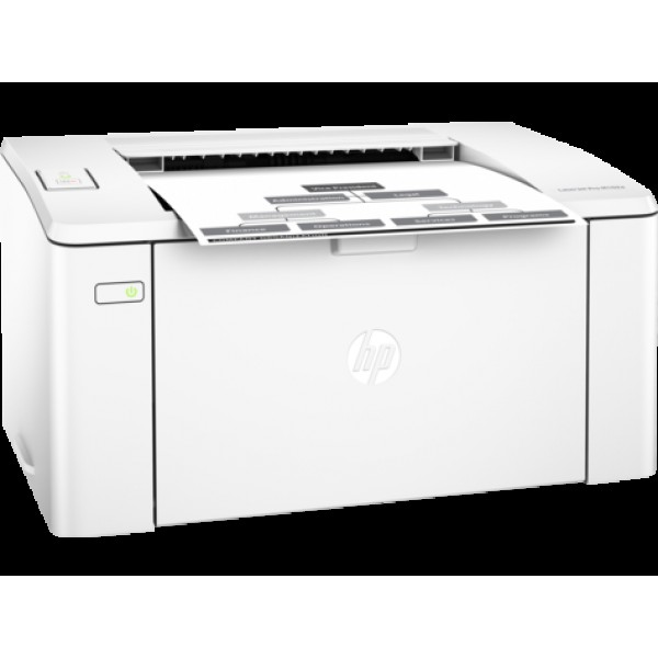 (გაყიდვაში არ არის)M102a, HP LaserJet Printer, Up to 600 x 600 dpi, Up to 22 ppm, 10,000 pages