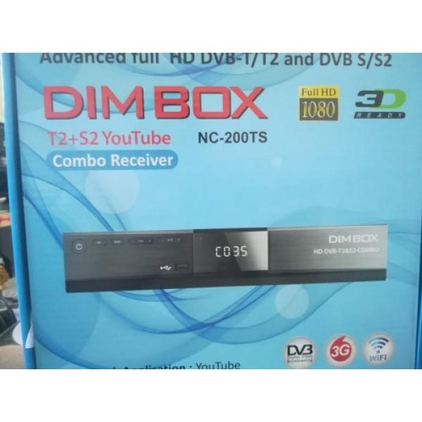 NC-200TS, DVB-T2   S2 COMBO,  DIM BOX, U...