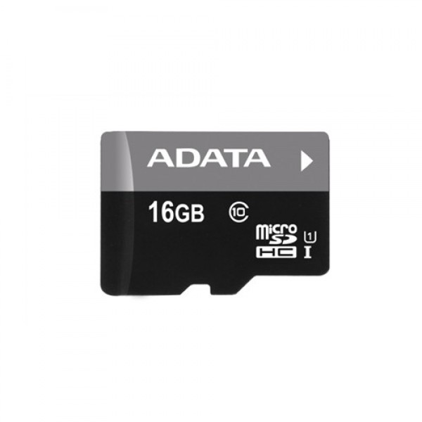 ADATA 16GB Premier microSDHC UHS-I U1 Card (Class 10) with 1 Adapter, retail
