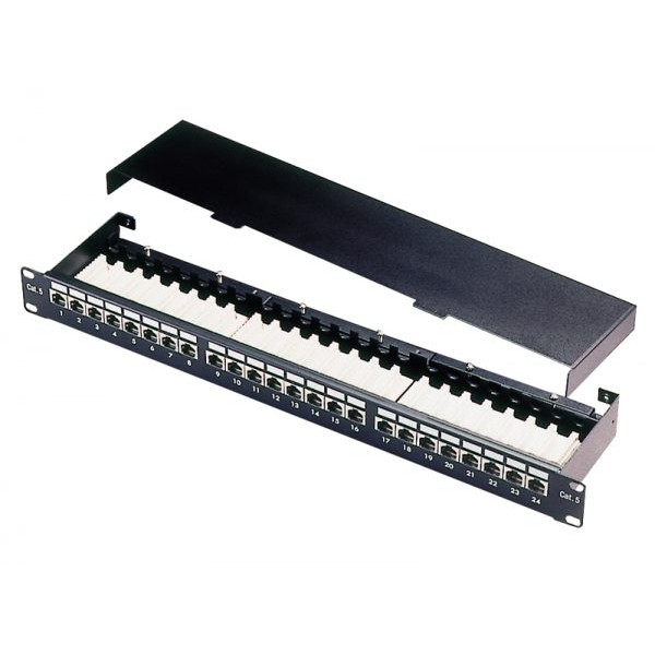Patch Panel-24 ports FTP Cat5e