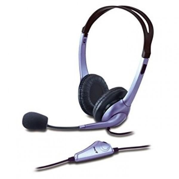 ყურსასმენი  HS-04S, Genius Headset with Noise-Canceling microphone